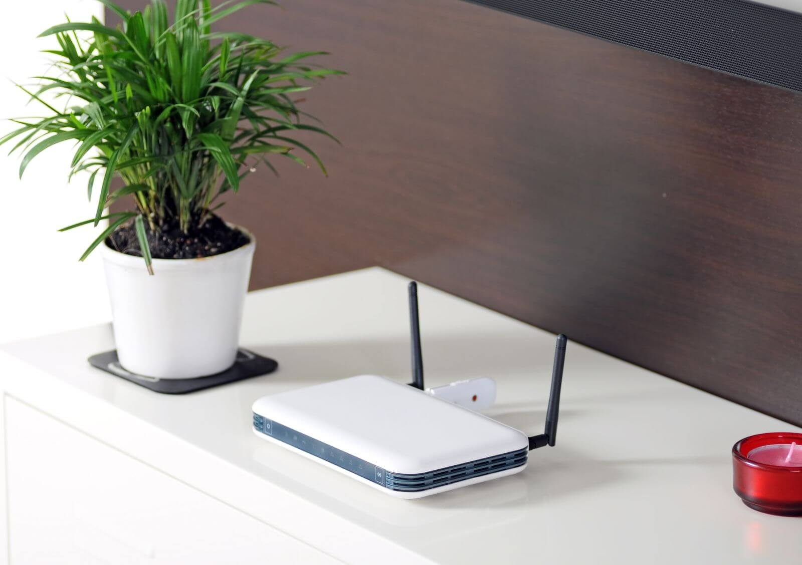 Buy a nice, nice new router.