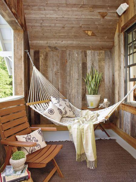 Example of a relaxing space.