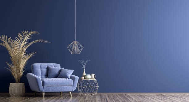 Blue Tones Wall: Rooms and Rooms +177 Photos and Ideas!