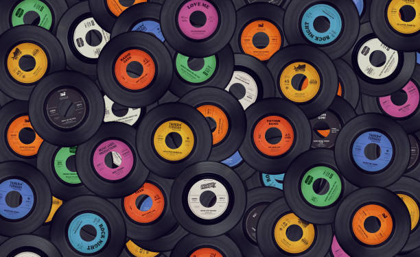Check out special decorating tips using vinyl records