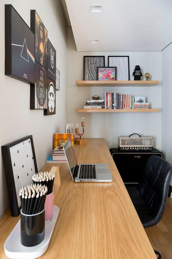 Print your personality to your private office without abandoning the basic ergonomics rules.
