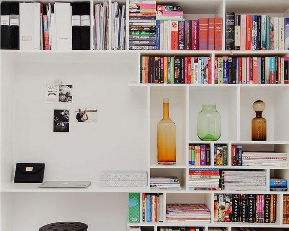 The library at home should have a book if objects are well organized and accessible.
